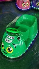 儿童广场游乐设备电瓶电动碰碰车厂家自销新款发光定时遥控碰碰车