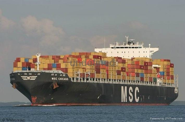 青島艾斯蘭德國際貨運代理青島至中東 2