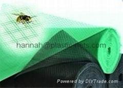 Extruded mosquito net