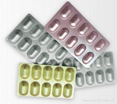 Alu Alu Cold Form Blisters for Pharmaceutical Packaging