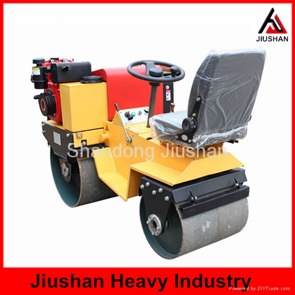 JS-YL-700J座駕式雙輪小型壓路機 2