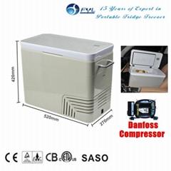 portable auto mini fridge