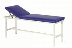 厂家直销带提背医用诊查床护理病床 医院治疗床不锈钢B超检查床