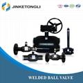 JINKETONGLI Handle type Welded Ball Va