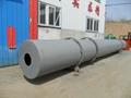 Sawdust rotary drum dryer