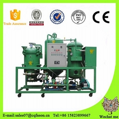 Used motor oil waste engine oil recycling refinery machine