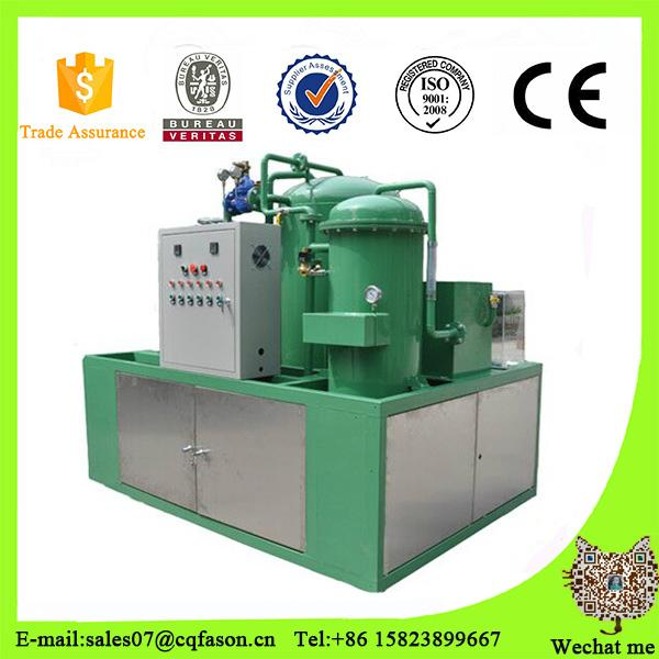 Portable vacuum waste oil recycling machine 1