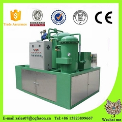 Portable vacuum waste oil recycling machine