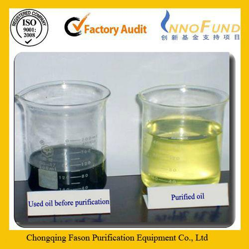 CE Certification and New Condition used engine oil purifier 1