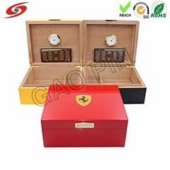 Cigar wooden box customize