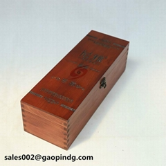 Wine wooden box customize