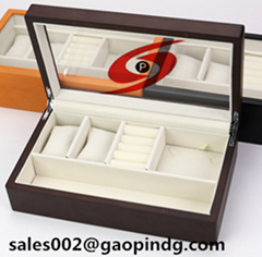 Jewelry wooden display box