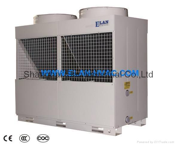 Multi-Functional Air Cooled Heat Pump Water Heater Scroll Inverter R410aR407C380 1