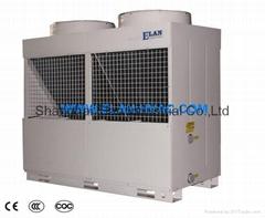 Multi-Functional Air Cooled Heat Pump Water Heater Scroll Inverter R410aR407C380