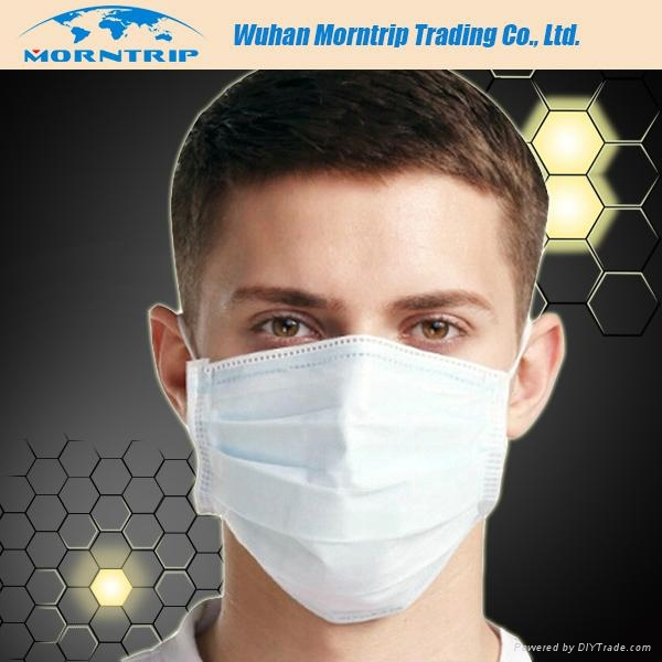 3 ply Disposable Nonwoven Face Mask 1