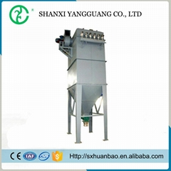 Single bag industrial dust collector