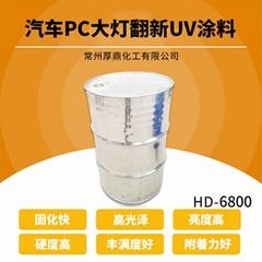 厂家热销UV真空电镀面漆涂料HD-6700