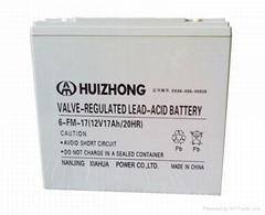 12v 17ah UPS sealed lead acid battery batteries AGM solar gel battery