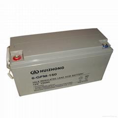 batteries accumulators 12V 150ah VRLA AGM Gel Deep Cycle Solar Battery long life