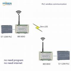 wireless PLC controller remote I/O wireless DI wireless DO