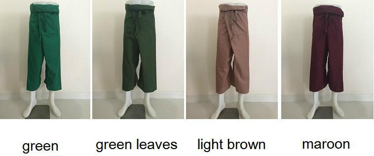 Wholesale Thai Fisherman Pants 12 Colors to Choose 3