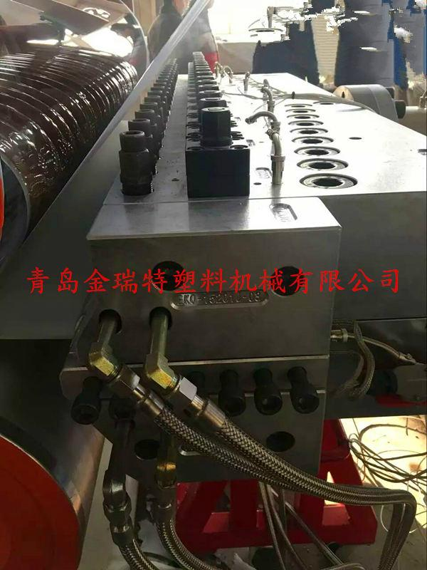 PVC imitation marble decorative board production line 1