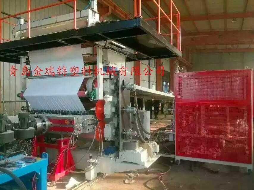 PVC仿大理石装饰板生产线 3
