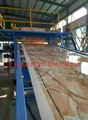 PVC imitation marble decorative board production line 5