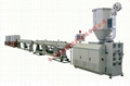 CPVC power tube production line