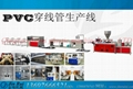 UPVC water supply pipe production line 3