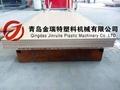 PVC wood door production line