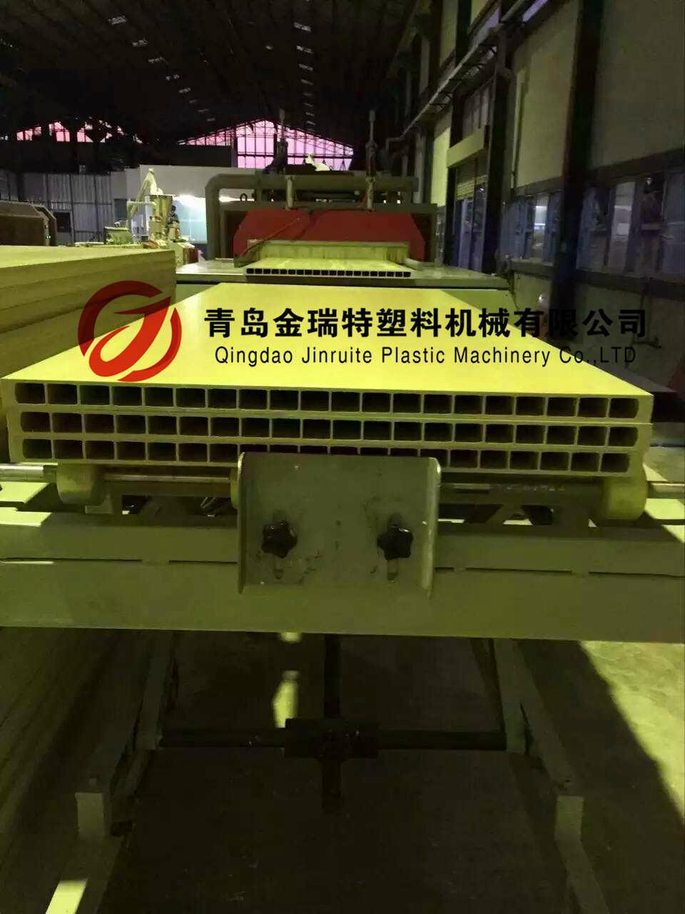 PVC wood door production line 3