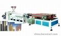 PE/PVC單雙壁波紋管生產線