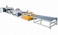 PVC噴絲地毯生產線