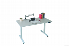 Height Adjustable Table with Electric Lifting Column