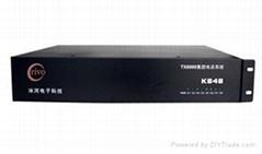 厂家直销 佛山冰河集团电话交换机K848
