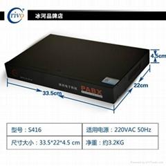 厂家佛山冰河/交换机设备/电话交换机/S416