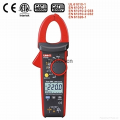 UNI-T UT216C 600A True RMS Digital Clamp Meters Auto Range w/Frequency Capacitan
