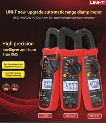 UNI-T True RMS Digital Clamp Meter AC DC Tester Ohmmeter