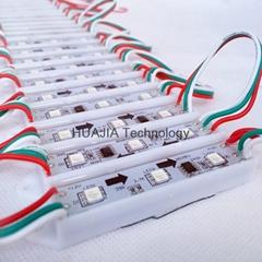WS2811幻彩模組 全彩廣告模組 3燈5050 LED全彩發光字燈箱防水
