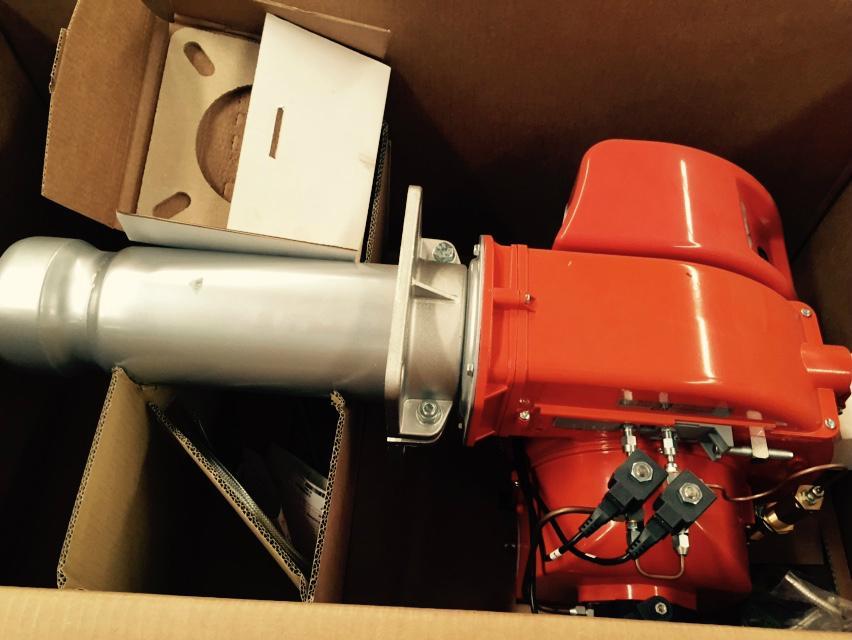 Baltur TBL 45 P  450KW 二段火 柴油燃燒器 意大利原裝 價格  4