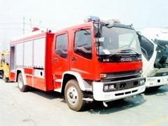 ISUZU FTR/ FVR water tanker/foam /Dry Powder fire truck