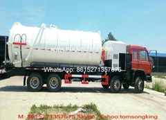 Dong Runze Special Vehicle Equipment  Vaccum Tank Truck 25~27cbm