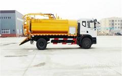 DRZE vacuum sewerage jetting tanker