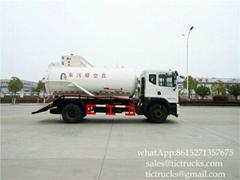 Royal Tiger Vacuum Truck 8900L- Euro 5