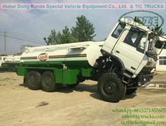 6x6 AWD refuel tanker truck