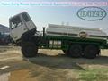 6x6 AWD refuel tanker truck 4