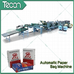 Kraft Paper Bag Making Machine with Flexo Printing