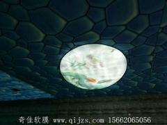 供應洗浴吊頂|洗浴中心吊頂材料-軟膜天花