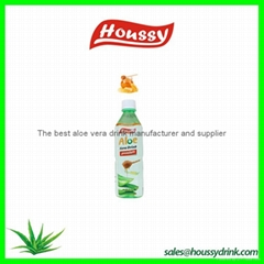 Houssy hot selling aloe vera fresh drink with honey